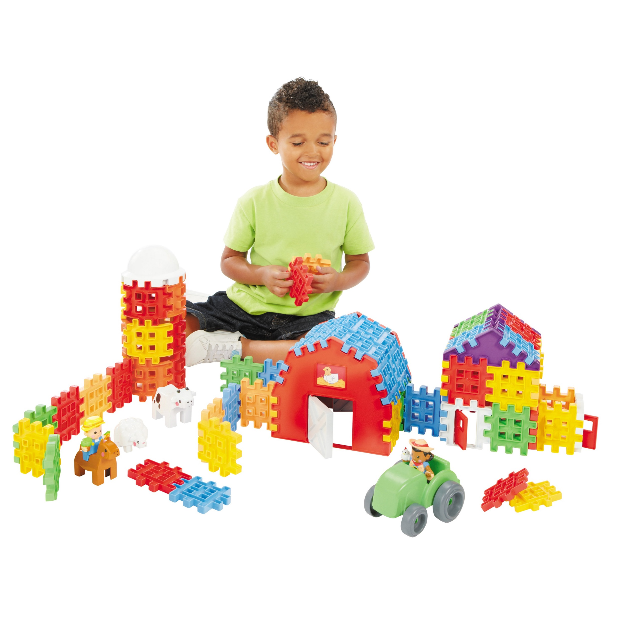 Little Tikes Waffle Blocks Farm by MGA Entertainment