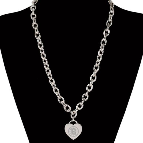 Boston Bruins Official NHL 18 inch  Necklace by Wincraft