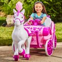 Huffy Disney Princess Royal Horse & Carriage 6V Ride-On Toy
