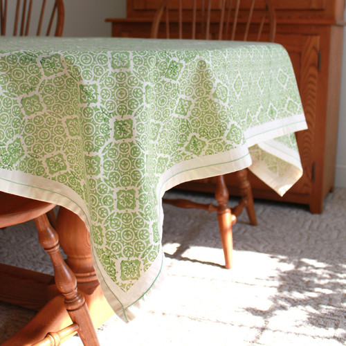 Sustainable Threads Cottage Respite Tablecloth