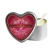 Earthly Body 3 In 1 Massage Candle Heart For Play 4oz