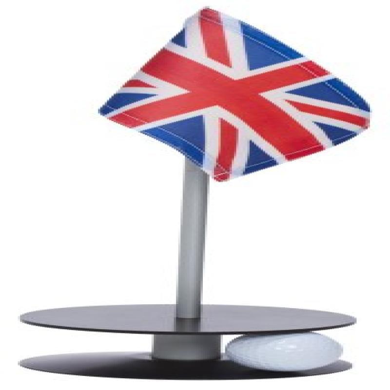 Anne Stone Golf Putt-A-Round UK Flag 1 Putting Aid, Black, Small by Anne Stone Golf Putt-A-Round