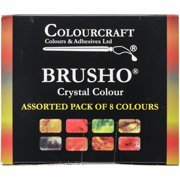 Colorfin BASS08 Brusho Crystal Colours Set