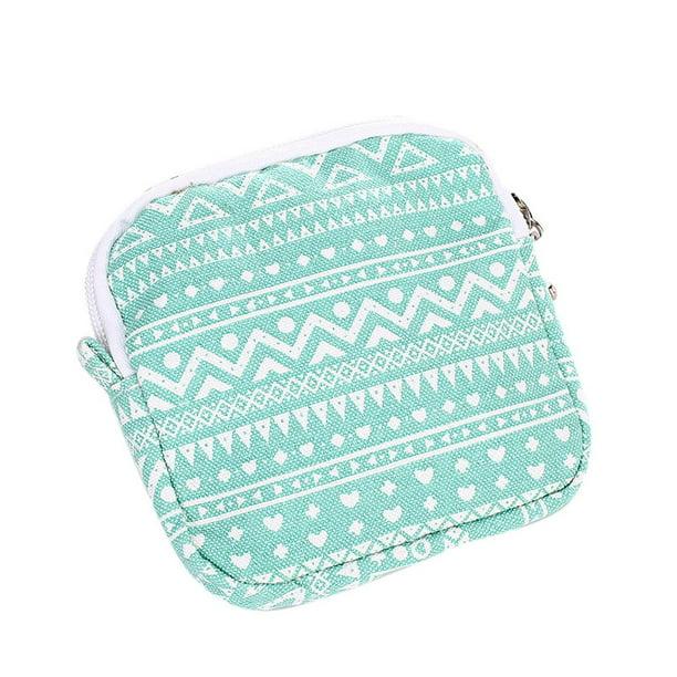 Cotton Cushions Case Sanitary Napkin Bags Girls Convenient Purse Holder
