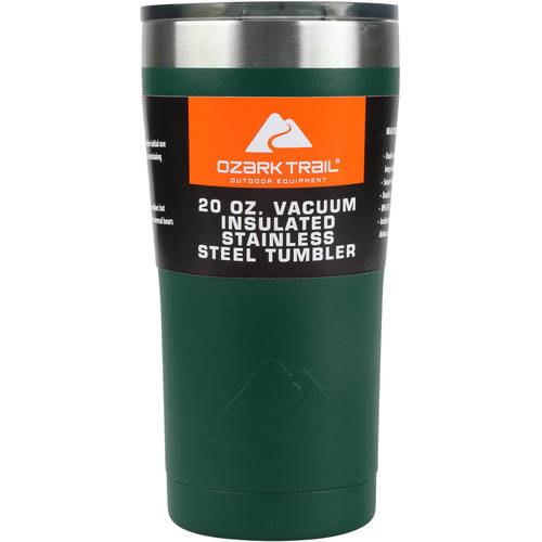 Ozark Trail 20-Ounce Double-Wall, Vacuum-Sealed Tumbler by Wal-Mart Stores, Inc.