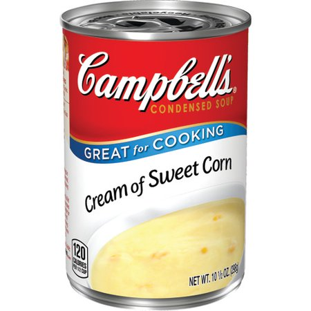 Campbell's Condensed Cream of Sweet Corn Soup, 10.5 oz. Can