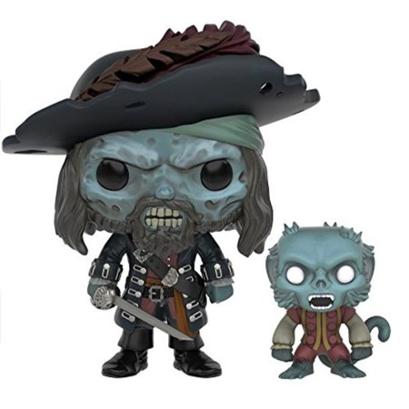 Funko POP Disney: 2016 Summer Convention Exclusive Pirates of The Caribbean Ghost Barbossa Action Figure - Hector Barbossa