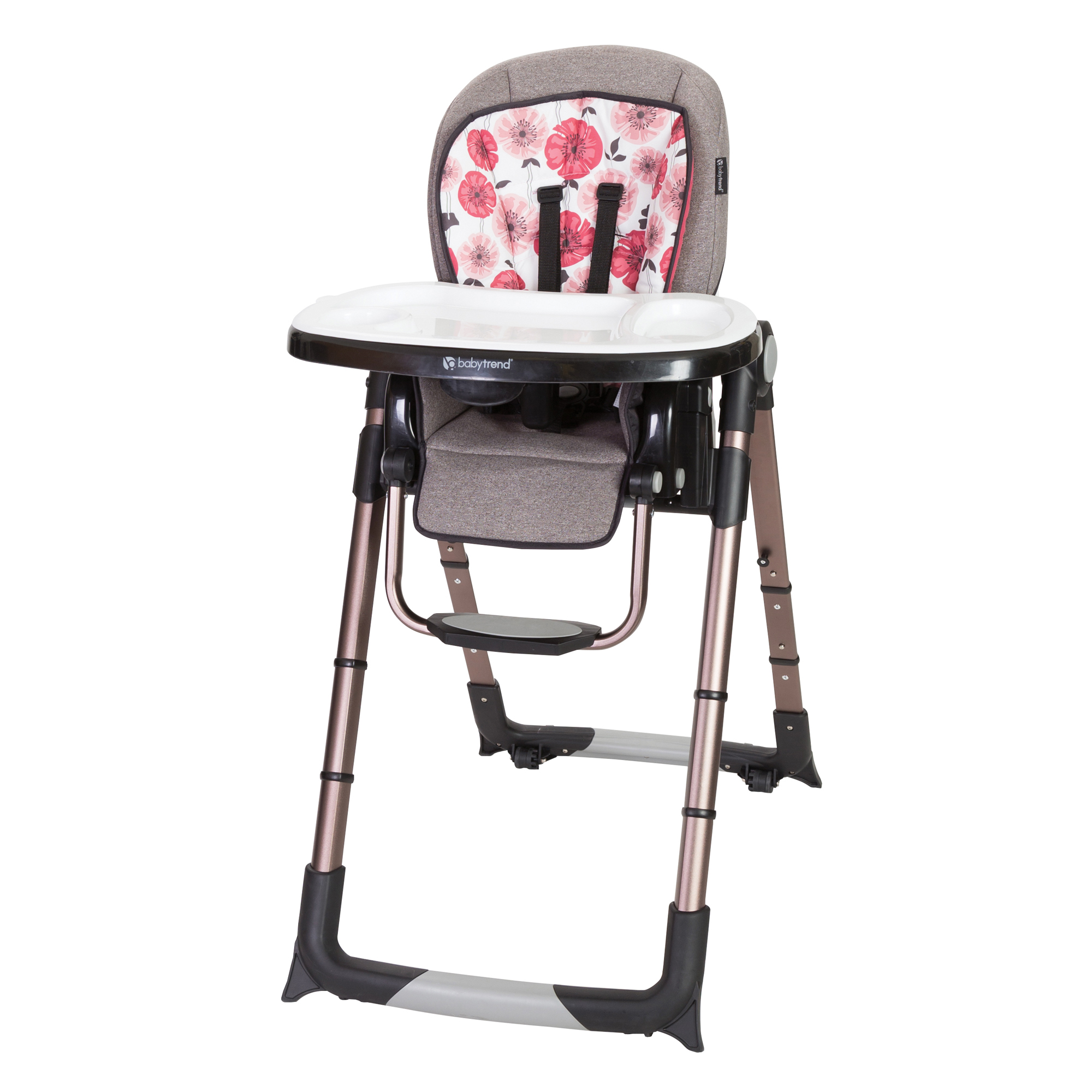 Baby Trend Go-Lite 5-in-1 Feeding Center, Rose Gold