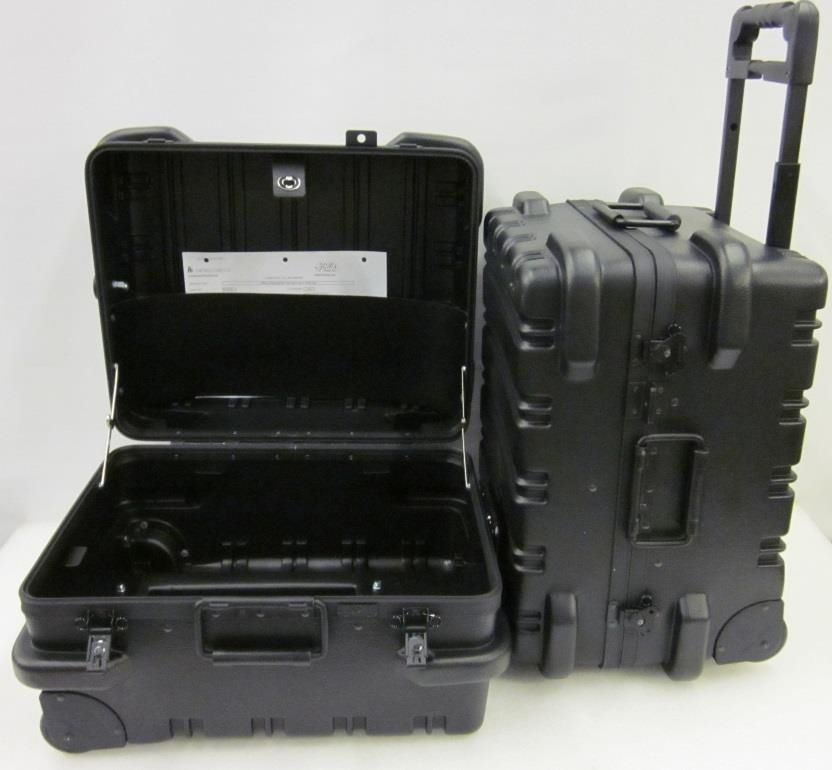 "Chicago Case 95-8586 MMST9CART ""Military-Ready"" Standard Electronic Tool Case, Black"