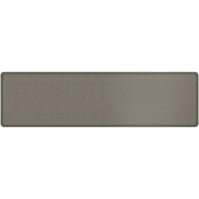 Gelpro Classic Anti Fatigue Kitchen Comfort Chef Floor Mat 20x72 Linen Granite Gray Stain Resistant Surface With Gel Core For Health Wellness