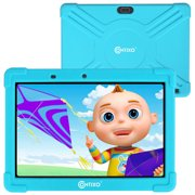 Contixo 10 inch K101 16GB 2GB RAM Kids Tablet with Children Parental Control Wifi 20+ Learning Games & Apps Exclusive Looney Tunes Content for Toddlers W/ Kid-Proof Case - Blue