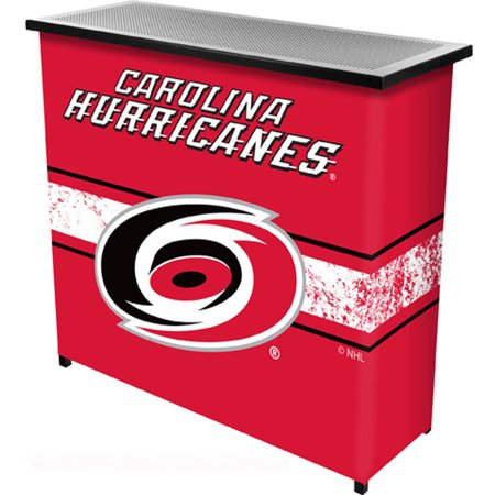 NHL Portable Bar with Carrying Case, Carolina Hurricanes by