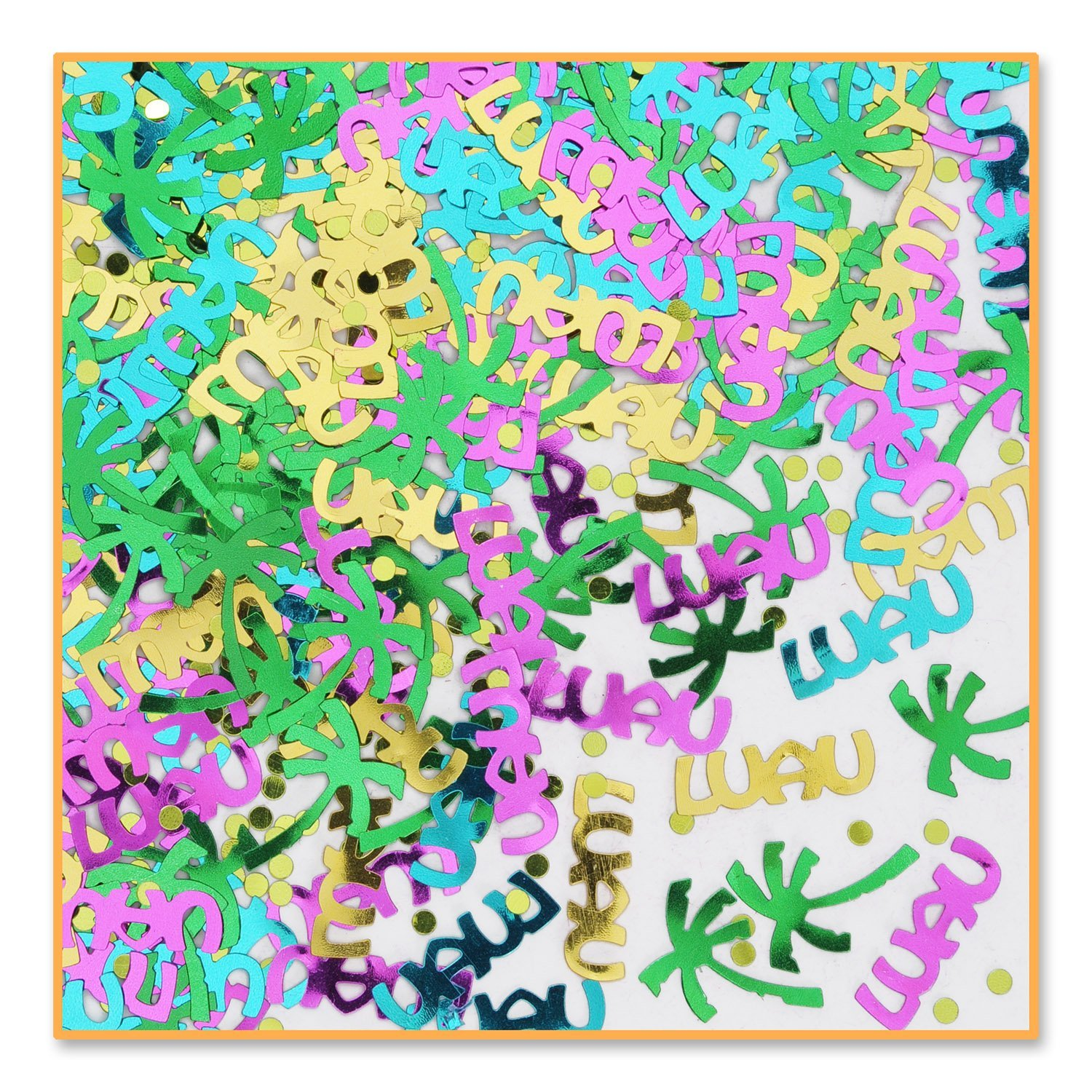 Luau Party Confetti (Pack of 6) By Beistle