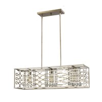 """Acclaim Lighting IN21062 Washed Gold Brax 3 Light 36"""" Wide Chandelier"""