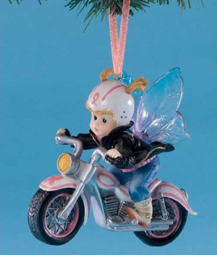My Little Kitchen Fairies Hope On Wheels Fairie Hanging Ornament, 3 3/4