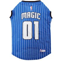 Pets First NBA Orlando Magic Mesh Basketball Jersey for DOGS & CATS - Licensed, Comfy Mesh, 21 Basketball Teams / 5 sizes