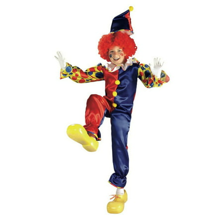 Halloween Bubbles The Clown Child Costume (Halloween Line Art For Kids)