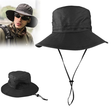 TSV 2019 Summer Fashion Unisex Bucket Hat Men Women Fisherman Cap for Cycling Fishing