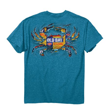 Men's Officially Licensed Old Bay Ripped Crab T-Shirt