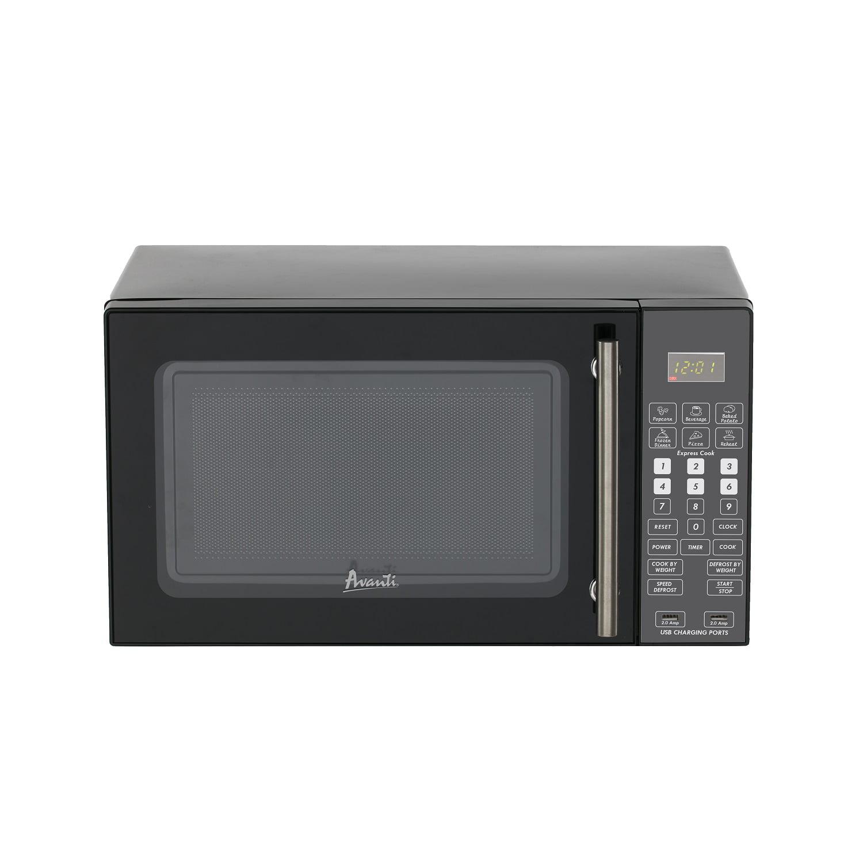 Avanti Deluxe Microwave, Black