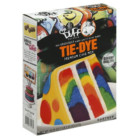 DUFF DECORATING 102870 DUFF DECORATING MIX CAKE TIE DYE - 18 OZ - Halloween Cake Decorating Ideas Simple