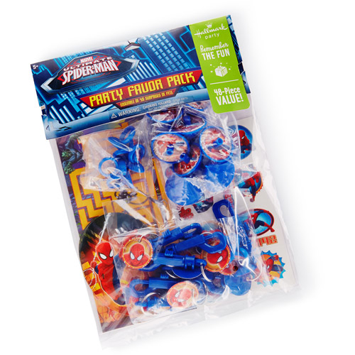 Hallmark Party Spider-Man Party Favor Pack