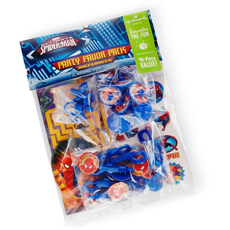 Hallmark Party Spider-Man Party Favor - Spiderman Favors