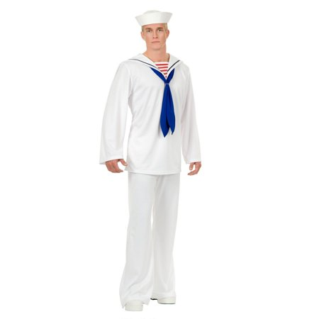 Halloween Sailor Adult Costume - Sailor Halloween Costumes