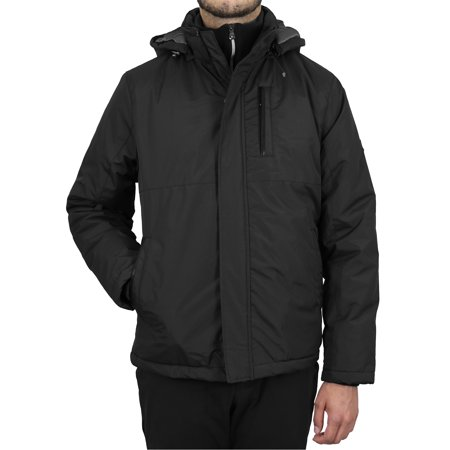 Men's Heavyweight Jacket With Detachable Hood