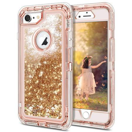 Heavy Duty Case for iPhone 6 Plus Case Glitter iPhone 6S Plus Case Cute  Bling Sparkle for Girls Women ... 7efbcb287e