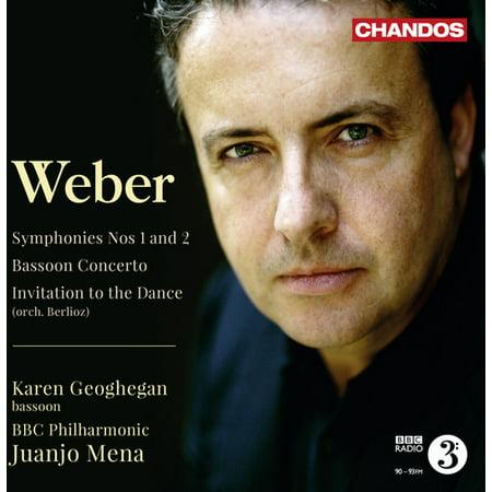 C.M. Von Weber - Weber: Symphonies Nos. 1 & 2; Bassoon Concerto; Invitation to the Dance [CD]