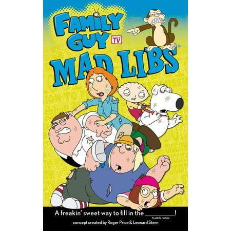 Family Guy Mad Libs