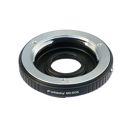 Fotasy Minolta MD Lens to Canon EOS Digital Camera Adapter, with Glass Element