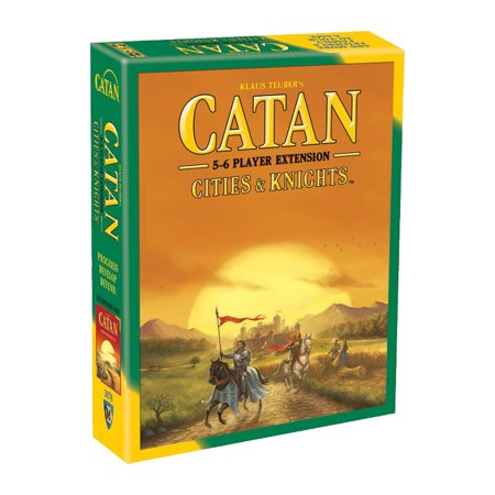 Catan: Cities & Knights 5-6 Player Extension Strategy Board