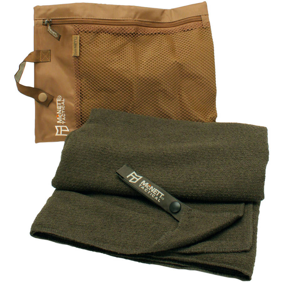 McNett Tactical Microterry Large Towel, Olive Drab Green