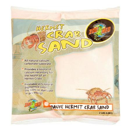 2 Lb Hermit Crab - Zoo Med Hermit Crab Sand, 2 Lb, Mauve