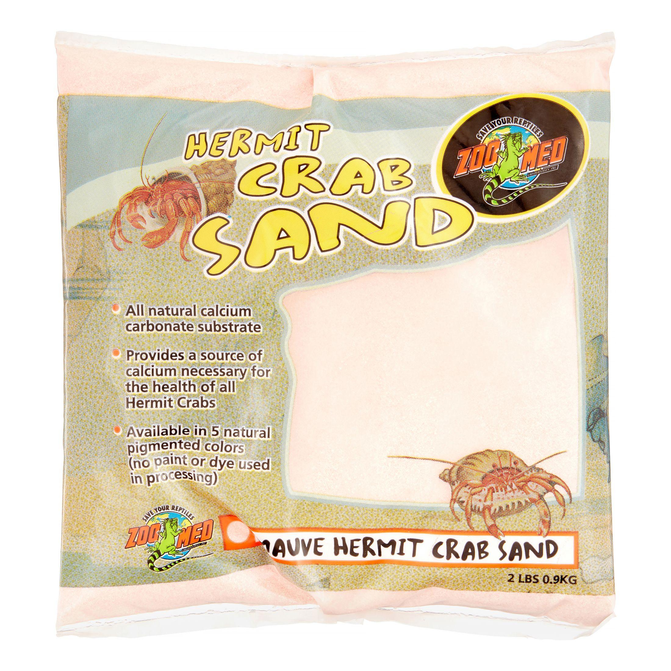 Zoo Med Hermit Crab Sand, 2 Lb, Mauve