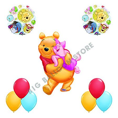 Winnie The Pooh and Friends 9pc Party Balloon Decorations - Winnie The Pooh Party