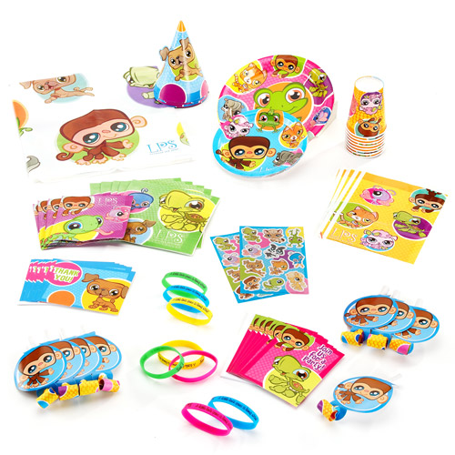 Littlest Pet Shop Birthday Party Supplies Pack For 8 Walmart Com