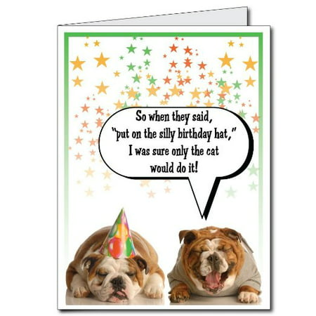 3x4 Happy Birthday Funny Best Friend Giant Greeting Card W