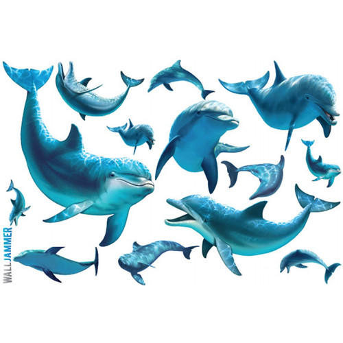 Advanced Graphics Dolphins Wall Decal