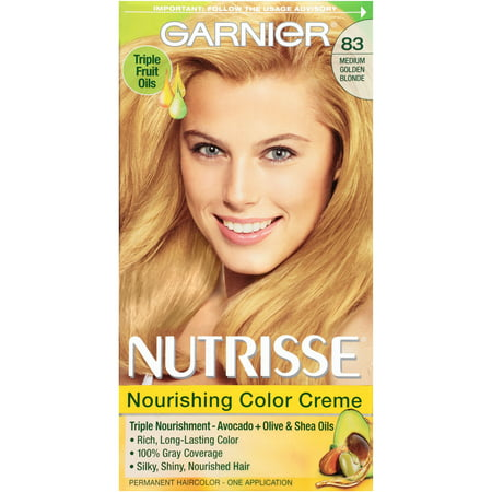 Garnier Nutrisse Nourishing Hair Color Creme (Blondes), 83 ...