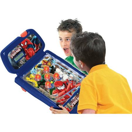 Marvel Spiderman Table Top Pinball
