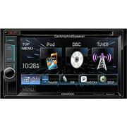 "Kenwood DDX272 Double DIN In-Dash DVDAM/FM Receiver w/ 6.2"" Touchscreen Display"