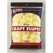 Chenille Kraft Company Ck-6403 Craft Fluffs Yellow