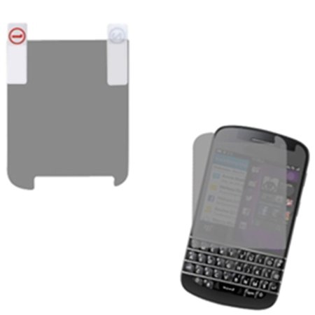 - Insten Clear LCD Guard Screen Protector Twin Pack For BLACKBERRY Q10