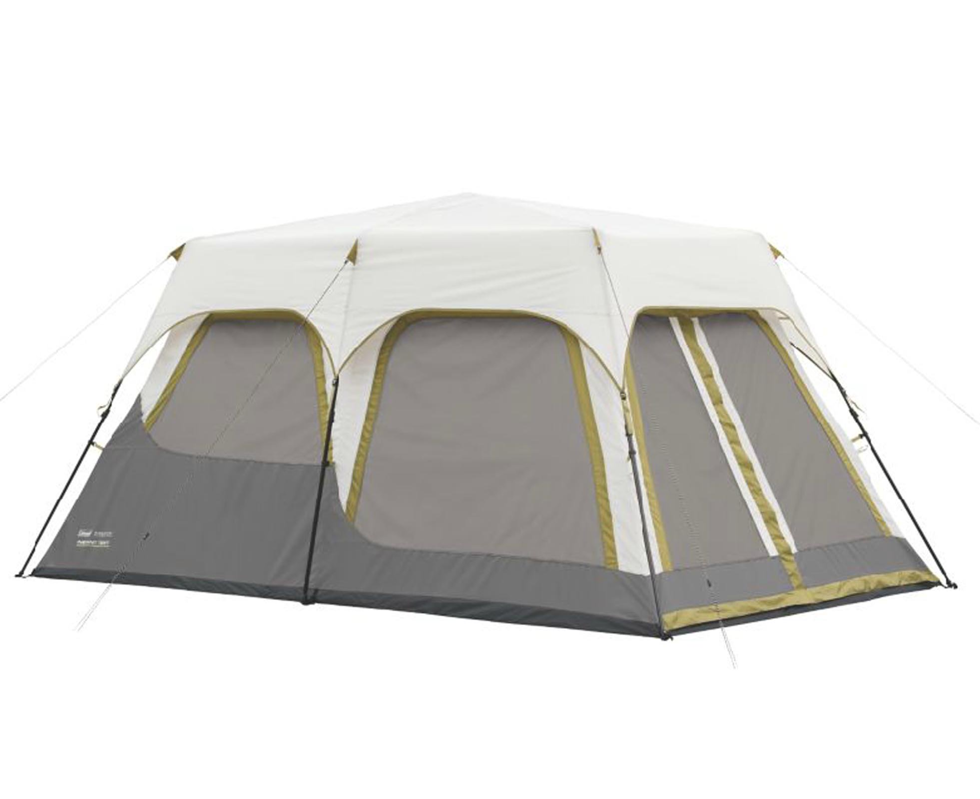 Coleman Signature 8-Person 2-Room Instant C&ing Tent with Rainfly | 2000010318  sc 1 st  Walmart & Coleman Signature 8-Person 2-Room Instant Camping Tent with ...