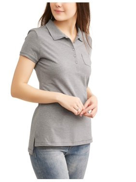 Juniors' Short Sleeve Polo
