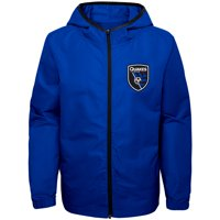 San Jose Earthquakes Youth All-Star Full-Zip Hoodie Jacket - Blue