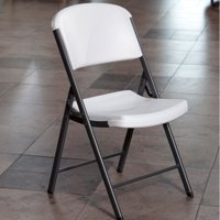 4-Pack Lifetime Commercial Grade Contoured Folding Chair (Multiple Colors)